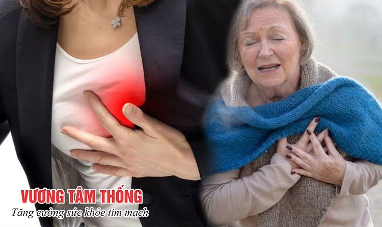 Bệnh cầu cơ mạch vành cũng có thể gây đau tức ngực
